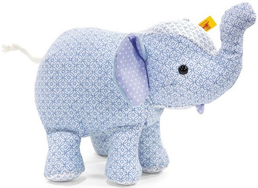 Blue Baby Toys : Steiff little circus blue elephant cotton baby