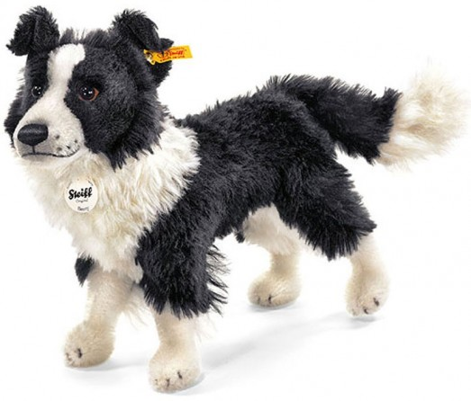 Retired Steiff Bears - BENNY BORDER COLLIE 35CM