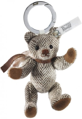 Retired Steiff Bears - SELECTION TEDDY BEAR KEYRING CAFE AU LAIT 10CM