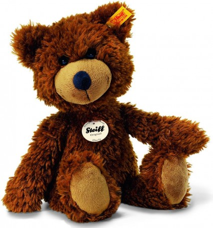 Steiff Cosy Plush Teddy Bears (Age 0+) - CHARLY TEDDY BEAR BROWN 30CM