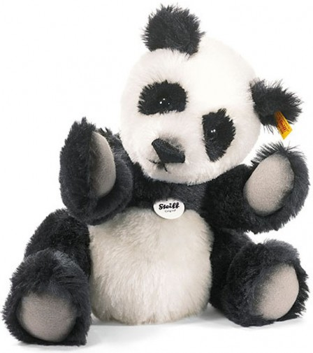 Retired Steiff Bears - CLASSIC TEDDY BEAR PANDA 35CM