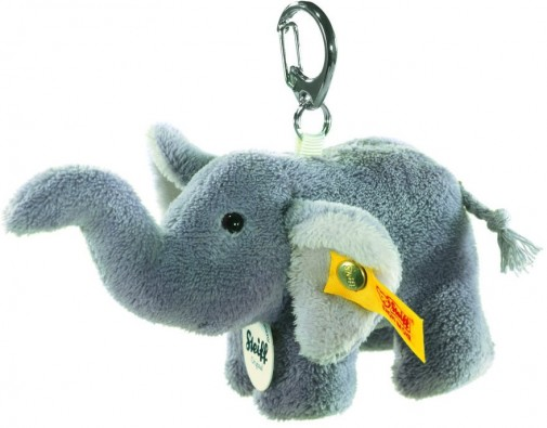 Retired Steiff Bears - KEYRING ELEPHANT 10CM