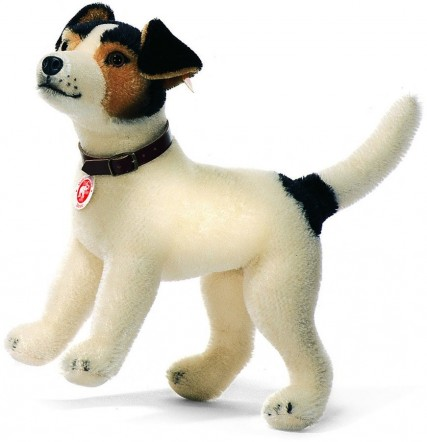 Retired Steiff Bears - HEXIE JACK RUSSELL TERRIER 33CM