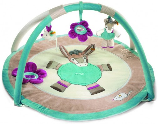 Retired Steiff Bears - ISSY DONKEY ACTIVITY PLAYMAT
