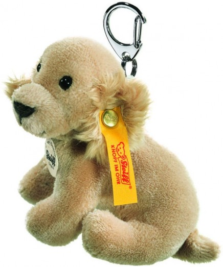 Retired Steiff Bears - KEYRING GOLDEN RETRIEVER 9CM