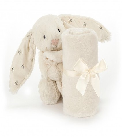 Retired Jellycat - BASHFUL BUNNY SOOTHER TWINKLE 34CM