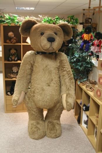 Charlie Bears Wellington Six Foot Tall Giant Teddy Bear