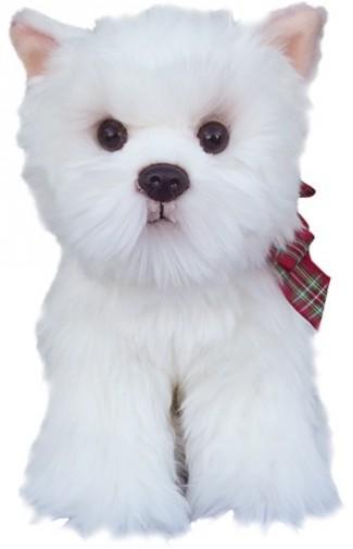 Corfe Bears Faithful Friends West Highland Terrier Soft Toy 30 5cm