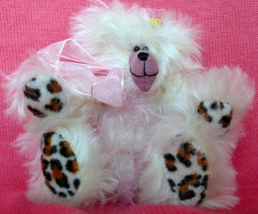 Retired Bears and Animals - FLORIE FLUFF 4""