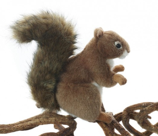 Hansa Plush Animals - RED SQUIRREL 16CM