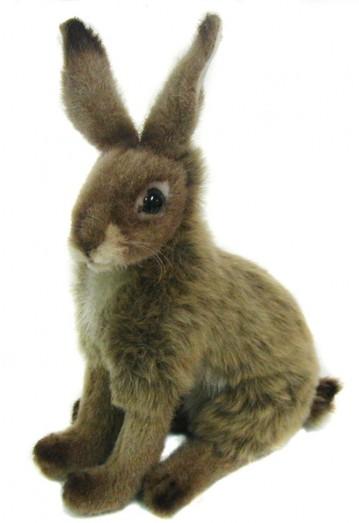 Hansa Jack Rabbit Toy 3747 Cuddly Plush Realistic
