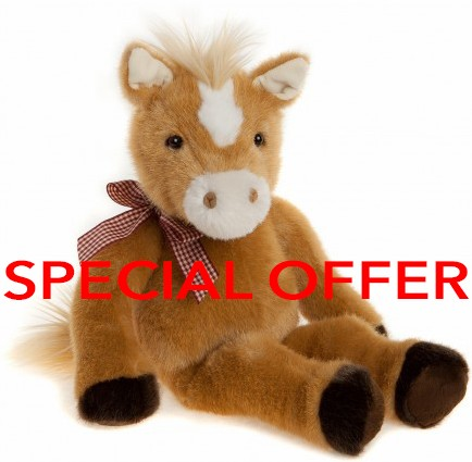 Charlie Bears Bearhouse Bears In Stock Now - WOBURN HORSE **SPECIAL OFFER**