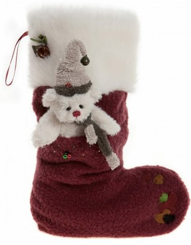 Charlie Bears Christmas Stocking Teddy Bear