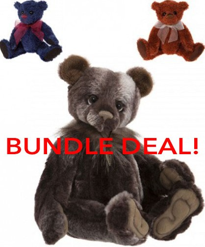 Charlie Bears In Stock Now - GARY **BUNDLE DEAL OFFER**