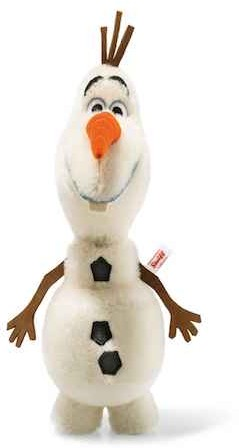 Steiff Limited Licensed Characters - DISNEY FROZEN OLAF 28CM