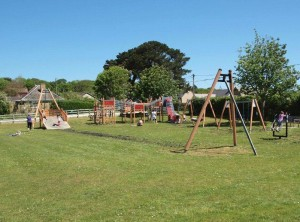 A great play area for the kids and a lovely day!