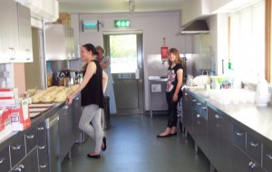 Our lovely refreshments ladies