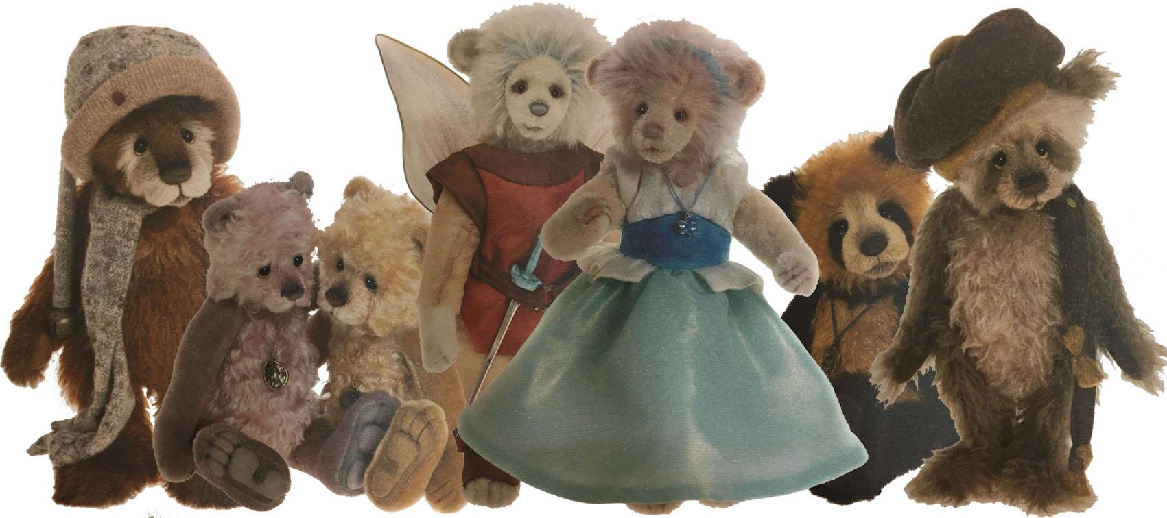 Teddy Bear Made By Wiltshire Bears Jade White Artist